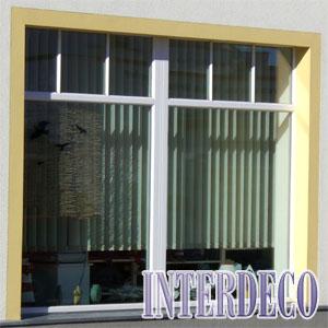 Lamellenanlagen und Vertikalanlagen für den Sonnenschutz