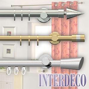 vorhangstangen und gardinenstangen f r moderne gardinen ideen. Black Bedroom Furniture Sets. Home Design Ideas