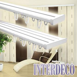 vorhangschienen f r die einfache befestigung von. Black Bedroom Furniture Sets. Home Design Ideas