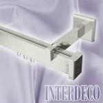 Moderne Gardinenstangen mit eckigem Innenlauf – Design Innenlaufstangen