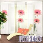 Ein moderner Schiebevorhang für einen dekorativen Sichtschutz