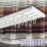 Gardinenschienen für Ihre Vorhangschals – Trends für die Fenster