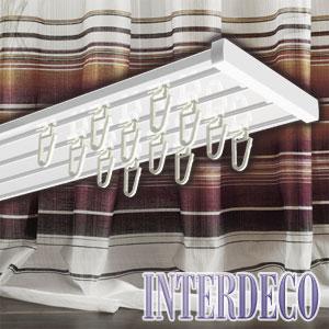 gardinenschienen f r fl chenvorh nge und moderne gardinen. Black Bedroom Furniture Sets. Home Design Ideas