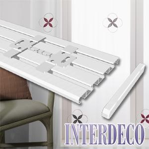 Deckenclips für Interdeco-Gardinenschienen Slimline