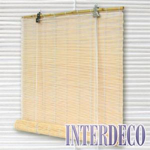 bambusrollos die fensterdekoration mit asiatischem ambiente. Black Bedroom Furniture Sets. Home Design Ideas