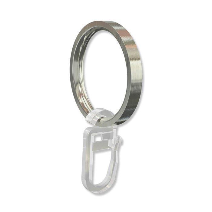 gardinenstangen ringe in edelstahl optik f r 16 mm 10 st ck ebay. Black Bedroom Furniture Sets. Home Design Ideas
