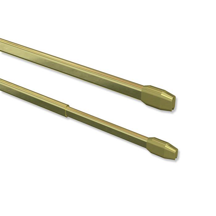 Vitragestangen-Scheibenstangen-ausziehbar-Teleskop-Gardinenstangen-Set-2-Stk
