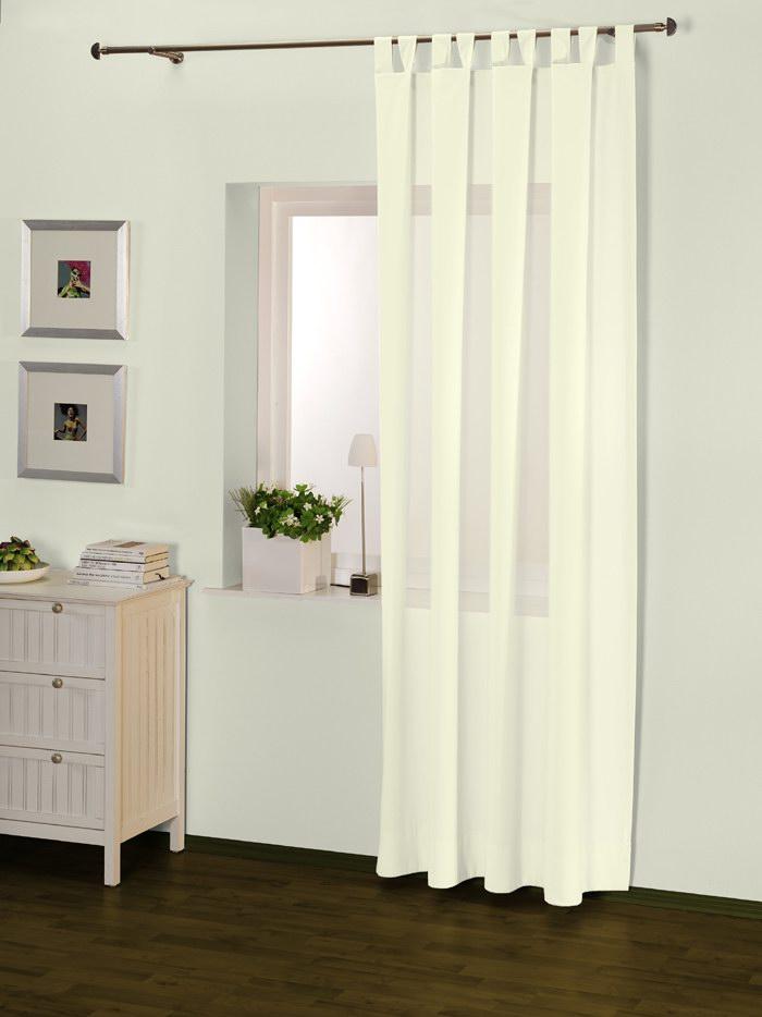 schlaufenschal gardinenschal voile vorhang in 135x235 cm lila violett u a. Black Bedroom Furniture Sets. Home Design Ideas