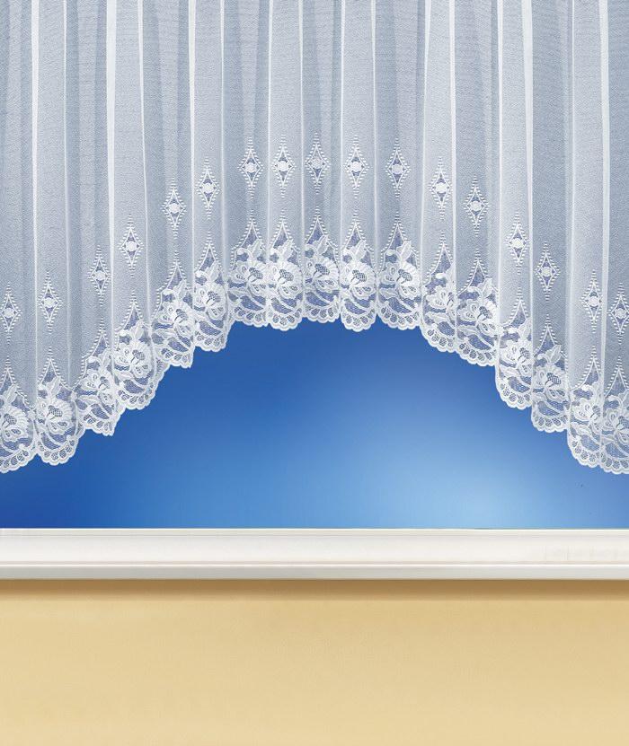 gardinenstore c bogen store jacquard vorhang in wei. Black Bedroom Furniture Sets. Home Design Ideas
