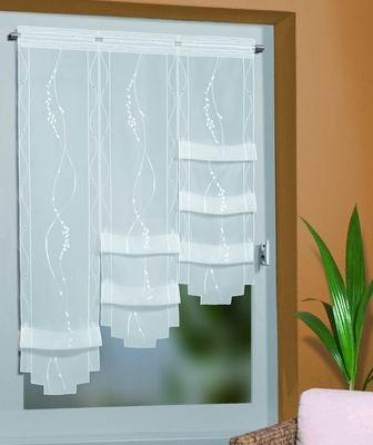 raffgardinen auf. Black Bedroom Furniture Sets. Home Design Ideas
