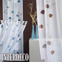 Dekorative Schlaufenvorh�nge sind Gardinen die im Trend liegen.