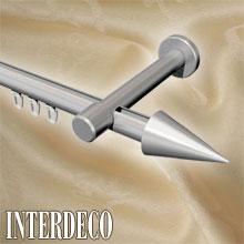 innenlaufstangen aus aluminium innenlauf gardinenstangen 1 l ufig alu. Black Bedroom Furniture Sets. Home Design Ideas