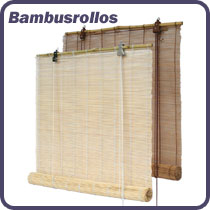 Bambusrollos in vielen Größen