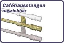 Cafehausstangen Metall - Kunststoff