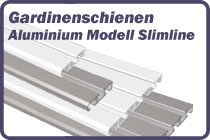 Gardinenschiene Aluminium Slimline