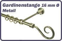 Gardinenstange Metall 16 mm Ø