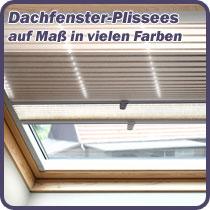Dachfenster-Plissee auf Maß