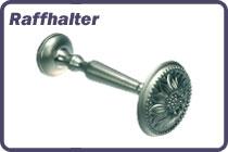 Raffhalter / Schalhalter aus Metall