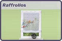 Raffrollos - Raffgardinen