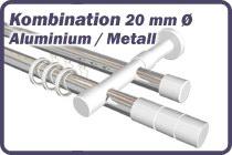 Rundrohr-Innenlaufstange Aluminium / Metall 20 mm �