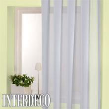 Gardinen mit durchscheinenden stoffen licht und sicht im - Art deco gardinen ...