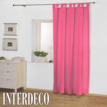 sch ne pinke und rosa farbige gardinen f r die zimmer. Black Bedroom Furniture Sets. Home Design Ideas