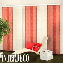 elegante rote gardinen f r die fenster kaufen eine rote. Black Bedroom Furniture Sets. Home Design Ideas