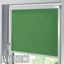 Grüne Rollos - Schöne Farben für die Fenster.