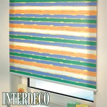 Mehrfarbige Rollos - Multicolor im Sonnenschutz.