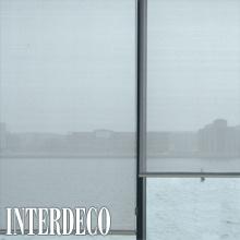 Transparente Rollos - Sicht und Fensterdekoration.
