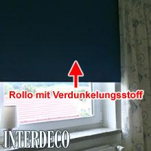 welche rollos machen den wohnraum dunkel faq hilfreiche antworten zu vielen fragen. Black Bedroom Furniture Sets. Home Design Ideas