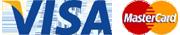 Kreditkartenzahlung mit VISA und Mastercard